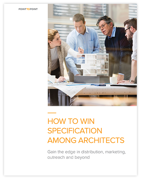 White Paper How to Win Specification Among Architects