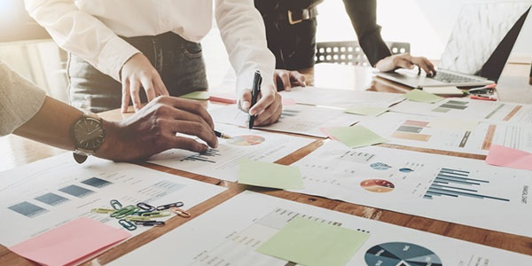Reviewing data-driven marketing reports